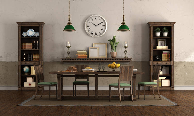 rustic style home decor